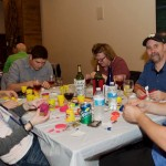"""Putting the FUN in FUNdraising - """"Bad Arft/Good WIne"""" events"""